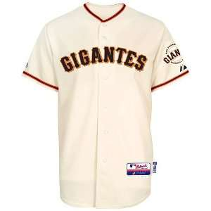 Authentic Tim Lincecum Gigantes Cool Base Jersey