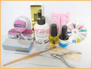 13in1 PRO Acrylic Powder Nail Art Kit For DIY Creation