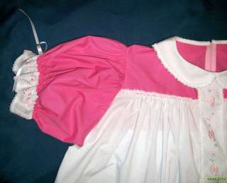 Adult Baby Sissy JOHNNY JUMP UP Dress Set w/ Diaper Cover