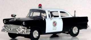 1956 FORD TUDOR SEDAN POLICE CHIEFS PATROL CAR   FIRST GEAR