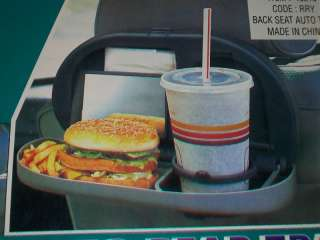 Back Seat Auto Tray~Multi Purpose~Holds Beverage+More