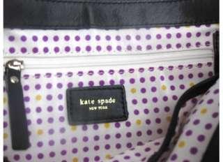 NEW Kate Spade Black Tompkins Square Ella Bag NWT