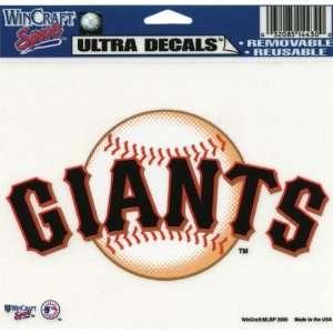 Francisco Giants   Logo Decal   Sticker MLB Pro Baseball Automotive