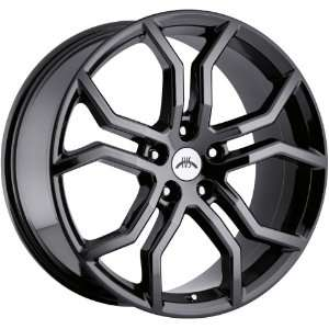 Vision Havoc 5x120 +35mm Phantom Black Chrome Wheels Rims Inch 20