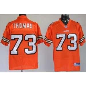 Joe Thomas #73 Cleveland Browns Replica NFL Jersey Orange