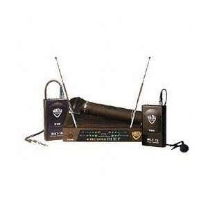 Two channel Vhf Wireless Dual Microphone System
