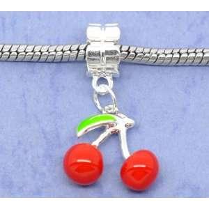 Beads Purple High Heel Shoe Dangle Charm Bead fits Pandora, Biagi