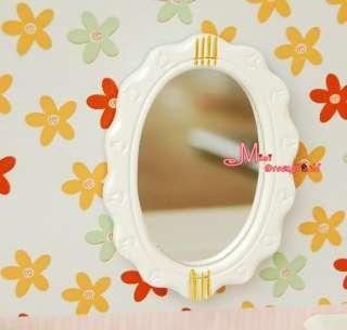 12 Dollhouse Miniature White Bathroom Toilet Set 4PCS