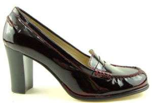 MICHAEL KORS BAYVILLE Red Patent Womens Shoes 6