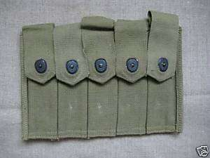 USA.Soviet. Red Army WW2 Thompson SMG chest ammopouch