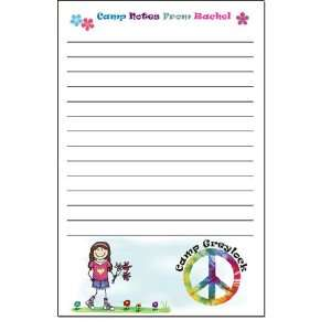 Pen At Hand Stick Figures   Camp Note Pads (Peace   Full