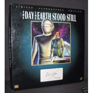 The Day the Earth Stood Still LASERDISC Limited Autographed Edition