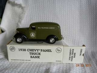 Diecast 1938 Chevy Panel Truck Bank for Bell Telephone