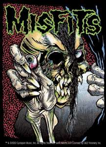 The Misfits  Pushead Sticker, bumper