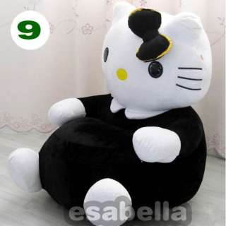 NEW BRAND HELLO KITTY KIDS STUFFED ANIMAL SOFA KIDS CHAIR