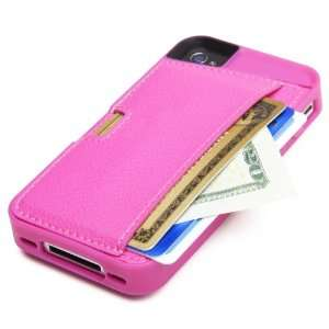 CM4 Q4 PINK Q Card Case Wallet for Apple iPhone 4/4S   1