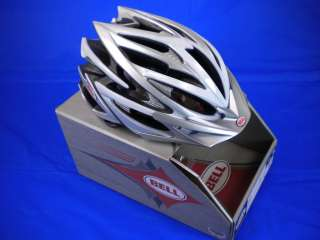 2011 BELL VOLT CYCLING HELMET SILVER WHITE SMALL