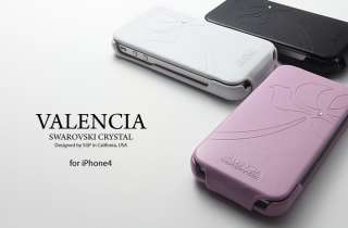 SGP Valencia Leather Black Case/Cover iPhone 4