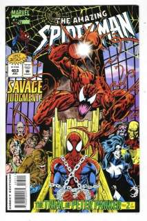 THE AMAZING SPIDER MAN #403 1995 MARVEL COMIC BOOK GOOD