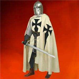 MEDIEVAL Knight Crusader Middle Ages TEUTONIC CAPE New