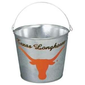 Texas Longhorns NCAA Metal 5 Quart Pail