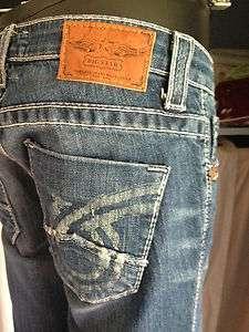 Irregular Premium Denim Womens Big Star Jeans Liv Boot Cut Luxury