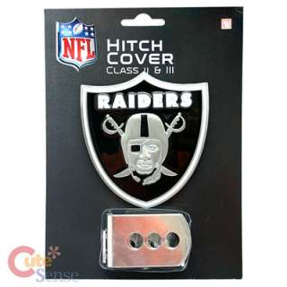 NFL Oakland Raiders Logo Hitch Cover Auto Accesories 1