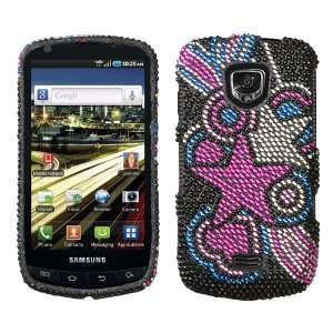 Vivid Stars Diamonds Crystal Bling Protector Case for Samsung Droid
