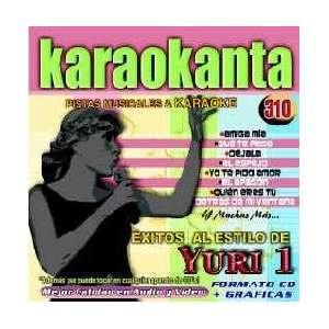 Karaokanta KAR 4310   Al Estilo de Yuri   I Spanish CDG