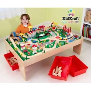 Waterfall Mountain Table and Train Set   KidKraft