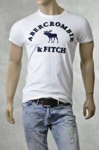 Abercrombie Brand Mens A & F Tee Shirts NEW FELDSPAR Muscle Fit T