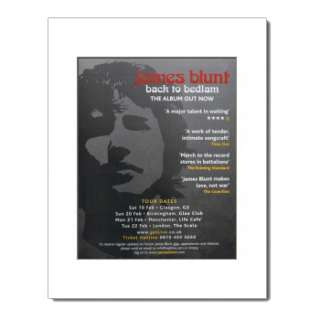JAMES BLUNT   Chasing Time   Matted Mini Poster
