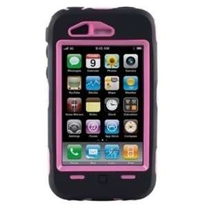 For Otterbox iPhone 3Gs Hard Case BLACK PINK Defender