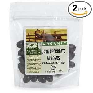Woodstock Farms Dark Chocolate Almonds with Evaporated Cane Juice