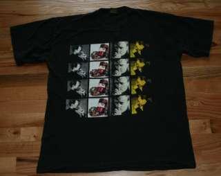 Vtg 1994 Phil Collins Tour black Tee Shirt XL men women
