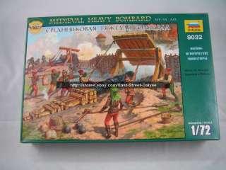 ZVEZDA 1/72 figure 8032 Medieval Heavy Bombard