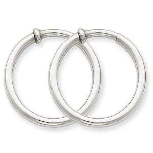 Gold Non pierced Earrings Hoops Earrings West Coast Jewelry Jewelry