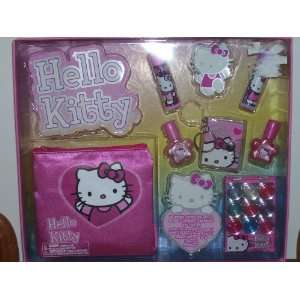 Hello Kitty Make up Kit with Cosmetic Bag Toys & Games