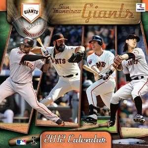 San Francisco Giants Team Wall Calendar 2012