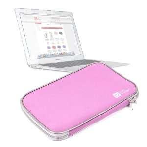 Sleek Pink Water Resistant Neoprene Protective Laptop Sleeve For Apple