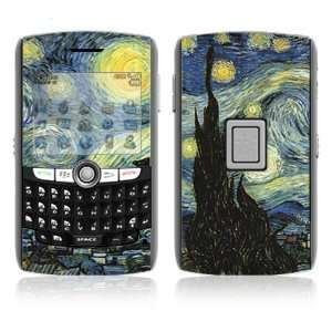 BlackBerry World 8800/8820/8830 Vinyl Decal Skin   Starry