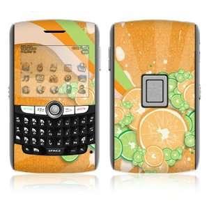BlackBerry World 8800/8820/8830 Vinyl Decal Skin   Citrus