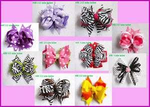 10 baby girl boutique hair bows 10 crochet headbands