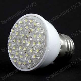 2W 38 LED E27 White Energy Saving Light Bulb 110V 220V 1989