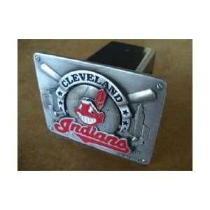 Cleveland Indians Trailer Hitch Cover