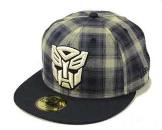 NEW ERA FITTED HAT OFFICIAL TRANSFORMERS AUTOBOTS CAP SUB FRESH