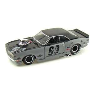 1968 Chevy Camaro SS Pro Street 1/24 Grey Toys & Games