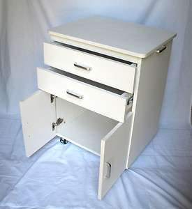 MEDICAL DENTAL OFFICE TREATMENT MOBILE CABINET CART