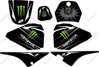 NEW STYLE MONSTER GRAPHICS DECAL STICKERS YAMAHA PW80 PW80