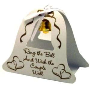 Wedding Bell Table Topper   Gold Case Pack 100 by DDI